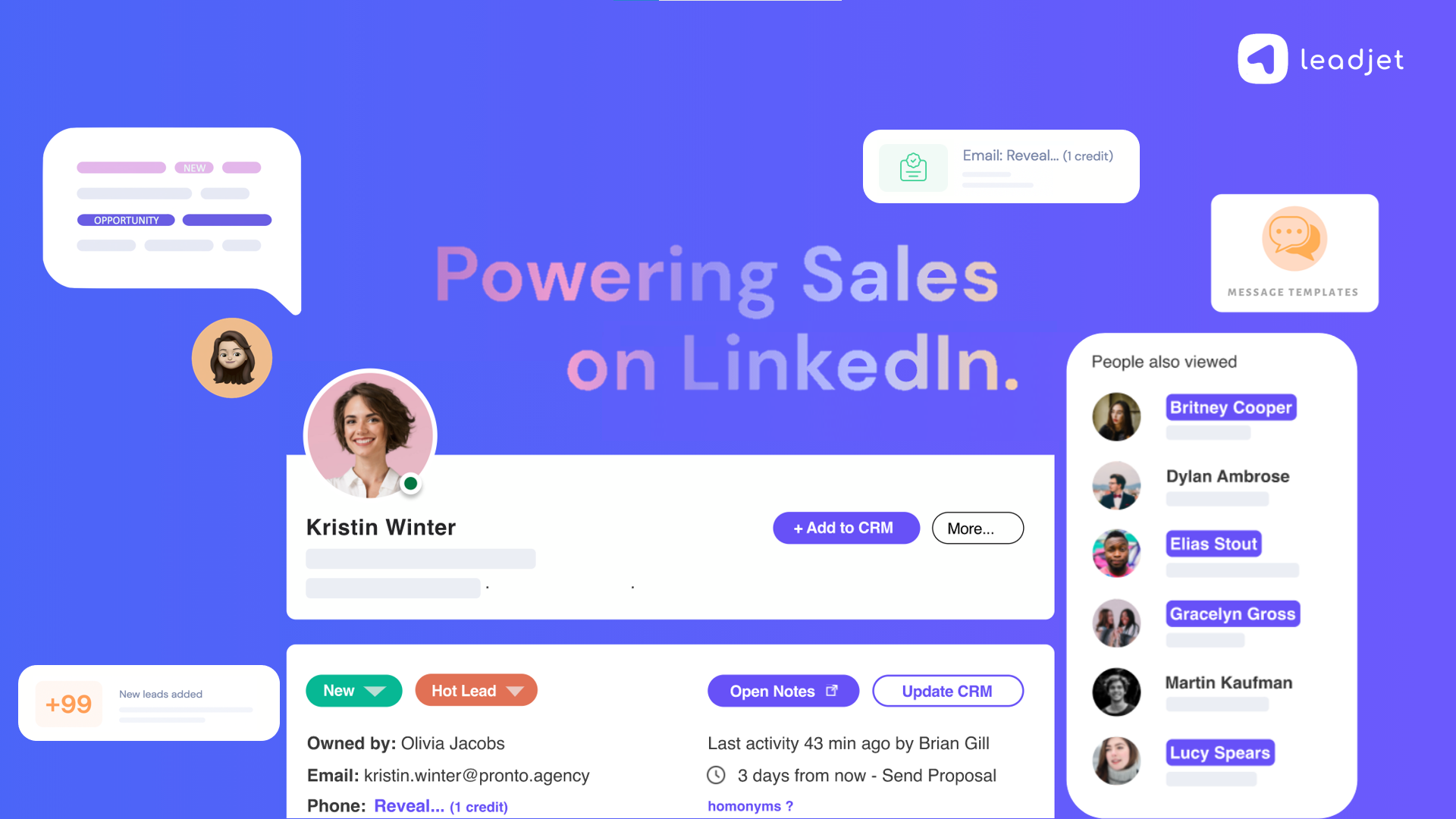 HubSpot and Linkedin