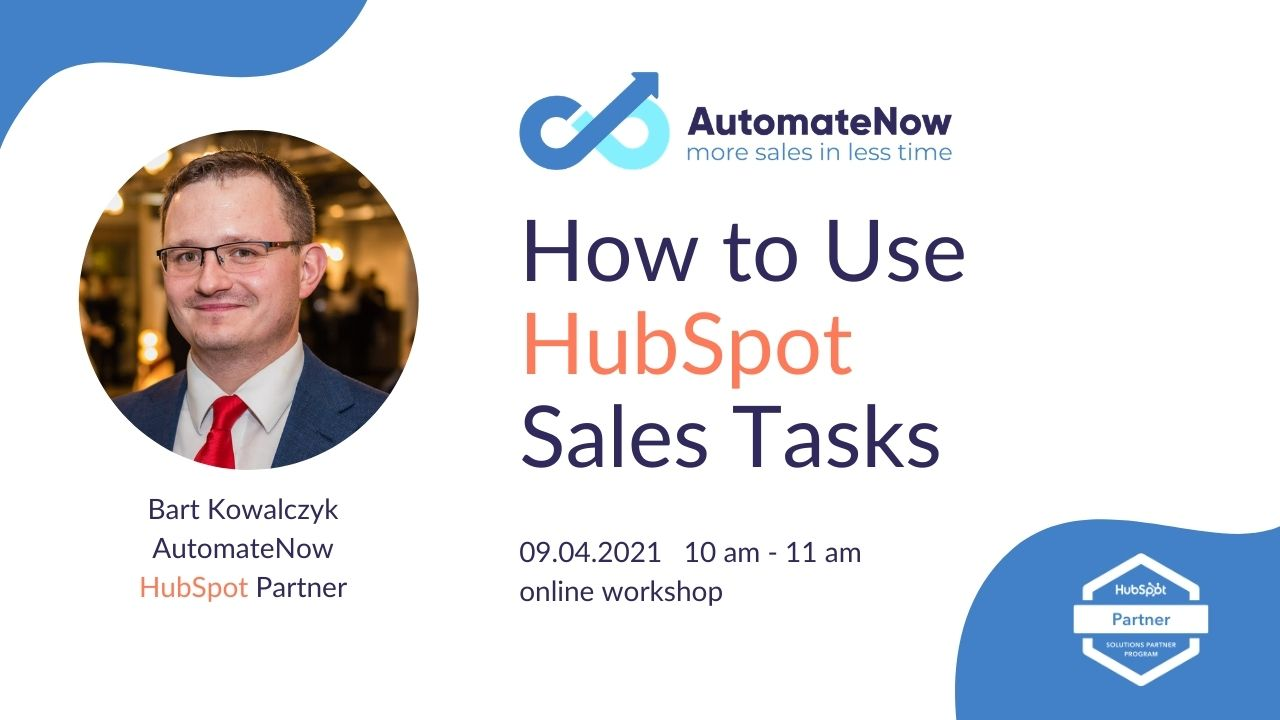 How to use HubSpot Sales Tasks