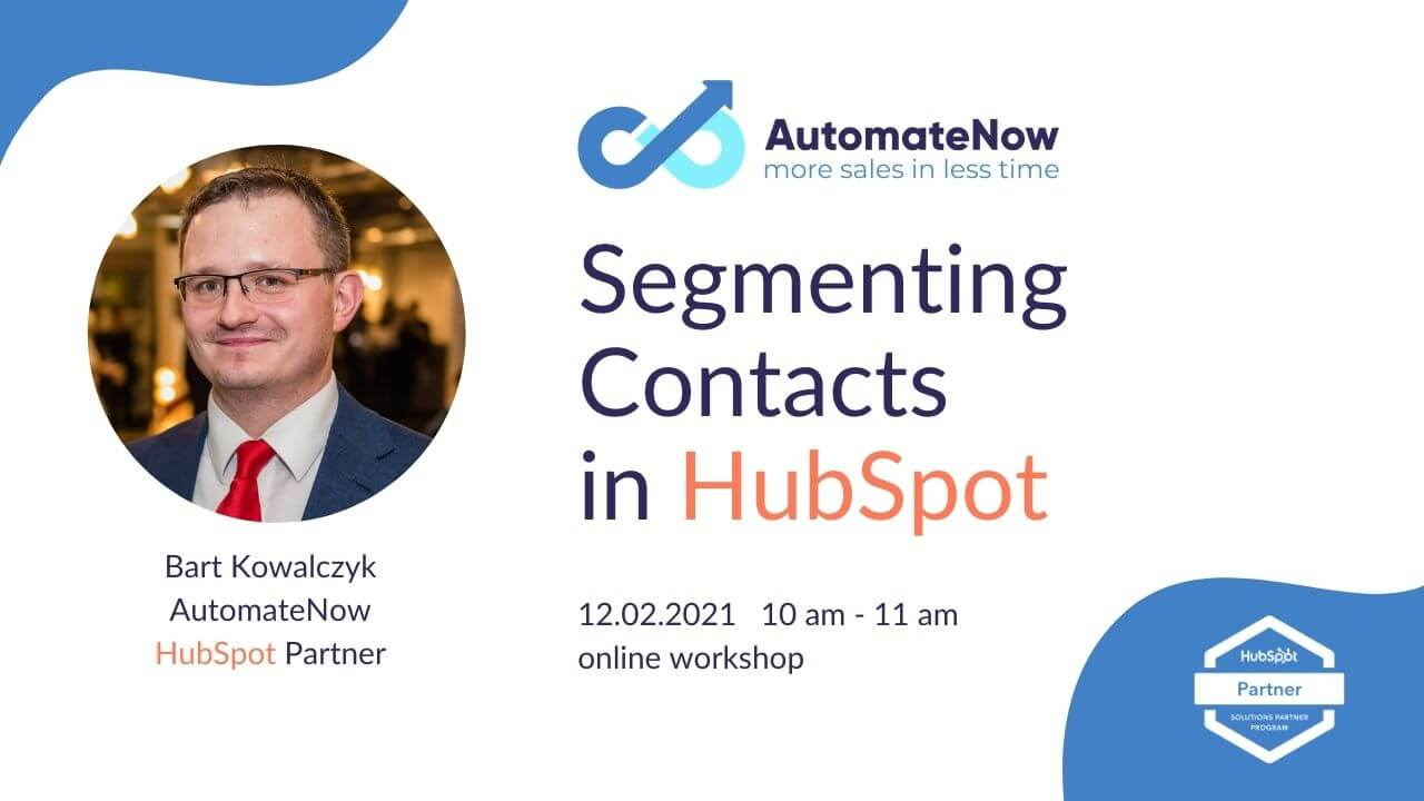 How to Segment Contacts in HubSpot?